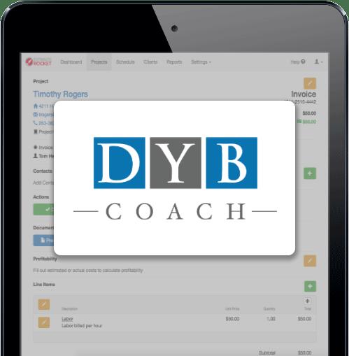 DYB Coach & Estimate Rocket